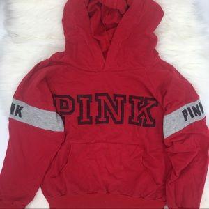 Red Pink Sweatshirt